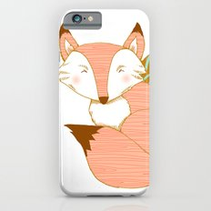 Fashionable Fox - Peach Slim Case iPhone 6s