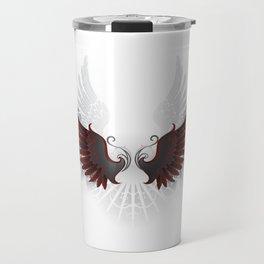 Black Wings Travel Mug