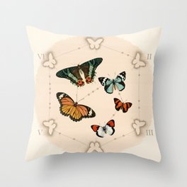 Wings in the Spotlight Throw Pillow