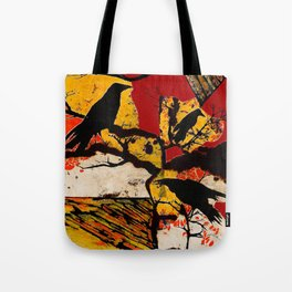 Funeral for a Friend Tote Bag