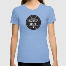 Badass Babe v2 T-shirt