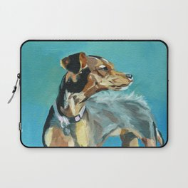 Mabel Jane the Marvelous Mystery Mutt Laptop Sleeve
