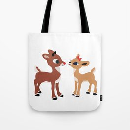 Classic Rudolph and Clarice Tote Bag