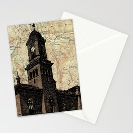 Claremont NH screenprint Stationery Cards