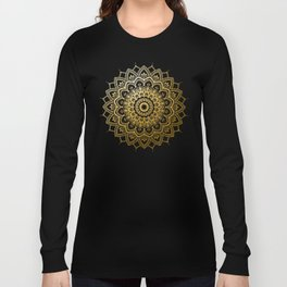 Pleasure Gold Long Sleeve T-shirt