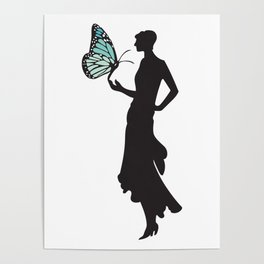 Monarch Madame Poster