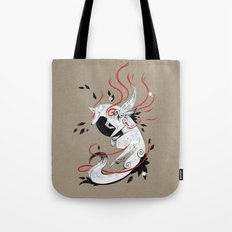 OKAMI RIBBONS Tote Bag