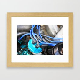 I Drove All Night Framed Art Print
