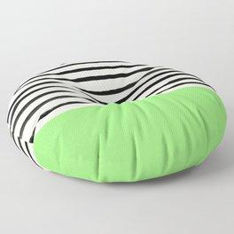 Key Lime x Stripes Floor Pillow