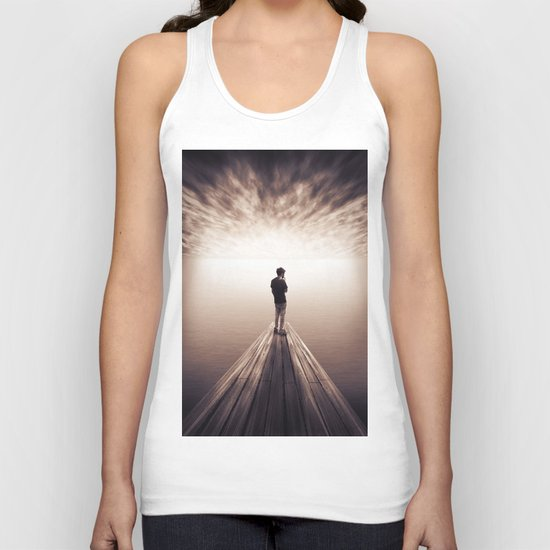 The Sky is getting closer Unisex Tank Top