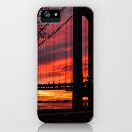 Sunrise at the Bridge iPhone Case
