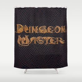 Dracoserific Dungeon Master Shower Curtain