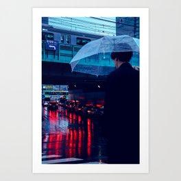 Tokyo Nights / Rain over Tokyo / Liam Wong Art Print