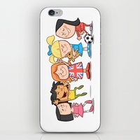 spice girls iPhone & iPod Skins featuring Spice Girls Kids by The Drawbridge
