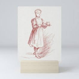 Little Paulina Christmas in Russia (1906) by Anna Robinson and Mary Cowden Clarke Mini Art Print