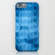 circles light blue Slim Case iPhone 6s