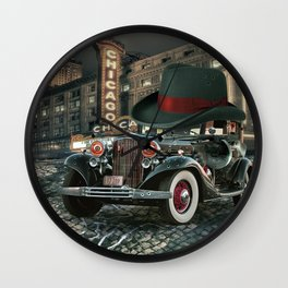 Don Cadillacchio Wall Clock