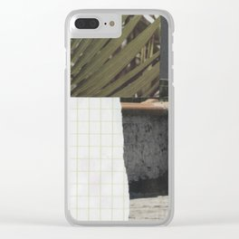 minimal chill Clear iPhone Case