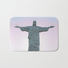 Christ the Redeemer Bath Mat