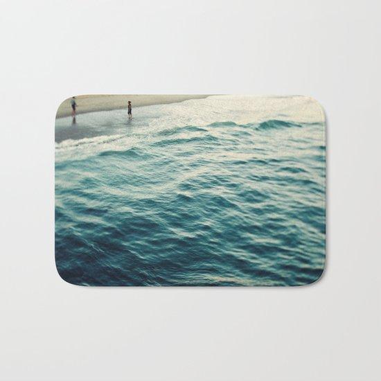You, Me, and The Sea  Bath Mat