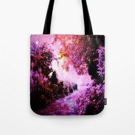 Romantic Fantasy Garden Tote Bag