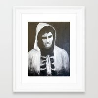 donnie darko Framed Art Prints featuring Donnie Darko by Alexandra Booten