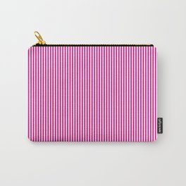 Pink Pinstripes Carry-All Pouch