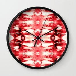 Tie-Dye Chili Wall Clock