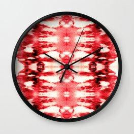 Tie-Dye Chili Wall Clock