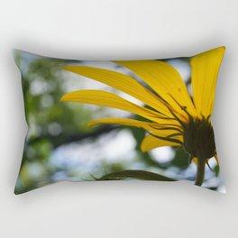 Light In The Petals Rectangular Pillow