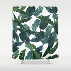Banana Leaf Decor #society6 #decor #buyart Shower Curtain
