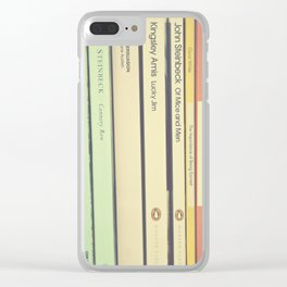 Reading the Classics Clear iPhone Case