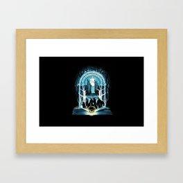 Magic Ring Framed Art Print