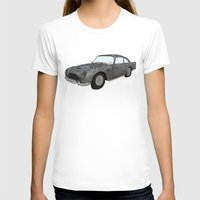 james bond T-shirts featuring James Bond Aston Martin DB5 by Dany Delarbre