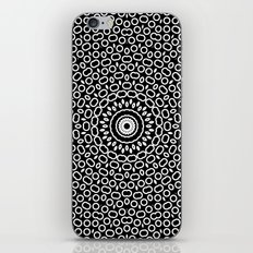 Black and white abstract pattern 5 iPhone Skin