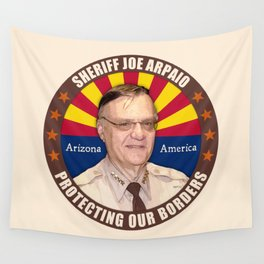 Sheriff Joe Arpaio Wall Tapestry