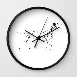 Dalmatian Spots Wall Clock
