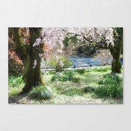 Yoyogi Park two. Canvas Print