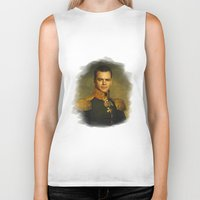 replaceface Biker Tanks featuring Matt Damon - replaceface by replaceface