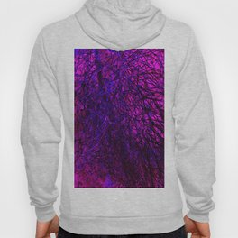 abstract purple lilac Hoody