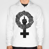 patriarchy Hoodies featuring FUCK THE PATRIARCHY by Aimee Fleck