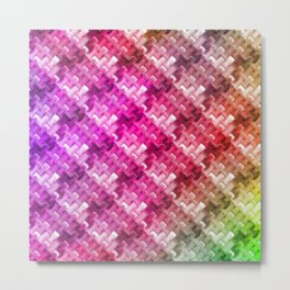 Colorful pattern no. 1 Metal Print
