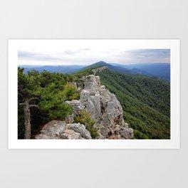 North Fork Trail 1 Art Print