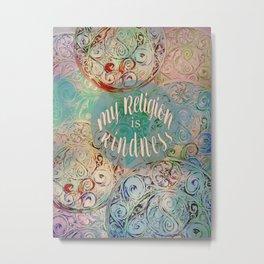 Kindness Metal Print