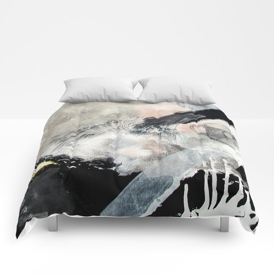 Saponification Abstraction Comforters