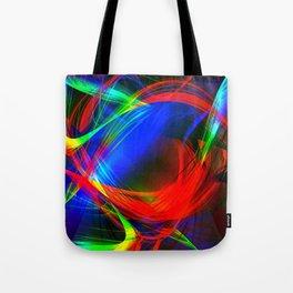 Colorful smoke Tote Bag