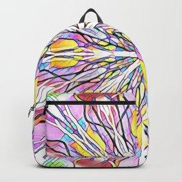 Stain Glass Kaleidoscope Backpack