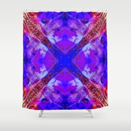 Crystal Bowls and Digeridoo Shower Curtain