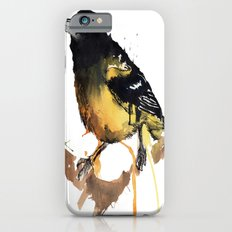 Black and Yellow iPhone 6s Slim Case