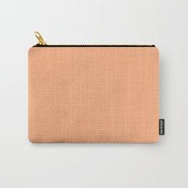 Peach Cobbler Color Accent Carry-All Pouch